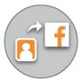 Transfer to Facebook